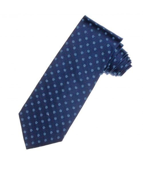 עניבה כחולה לגבר
