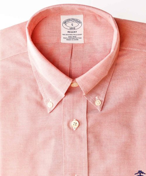 חולצת אוקספורד אפרסק