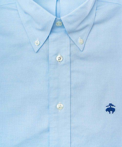 חולצה brooks brothers מכופתרת לגבר בצבע תכלת שרוול ארוך