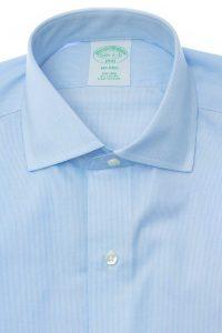 חולצה מכופתרת לגבר Brooks Brothers בצבע תכלת עדין