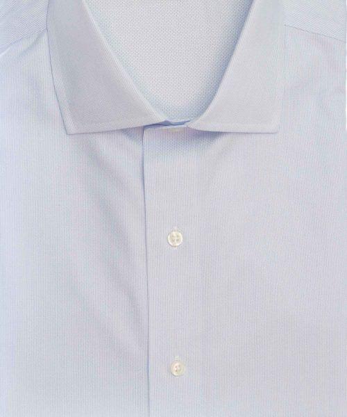 חולצה אלגנטית מכופתרת לגבר בצבע תכלת עדין ללא גיהוץ brooks brothers ברוקס ברדרס