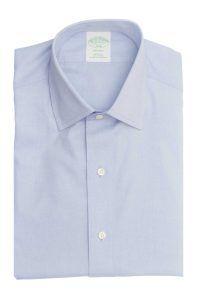 חולצה לגבר brooks brother בצבע תכלת שרוול ארוך
