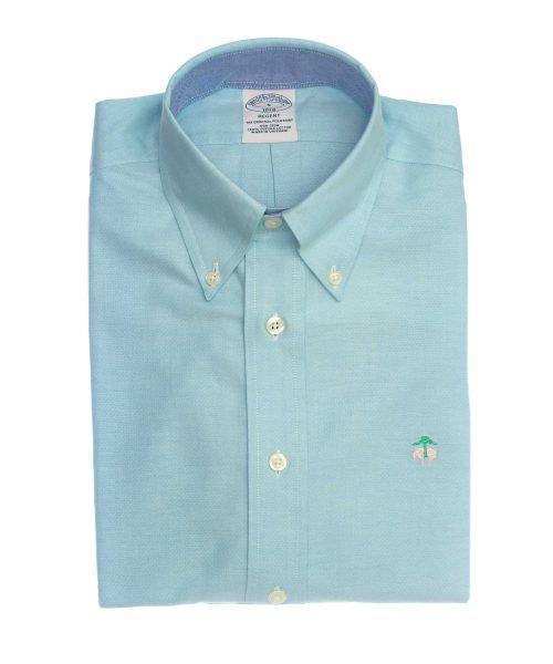 חולצת ספורט לגבר אוקספורד brooks brothers