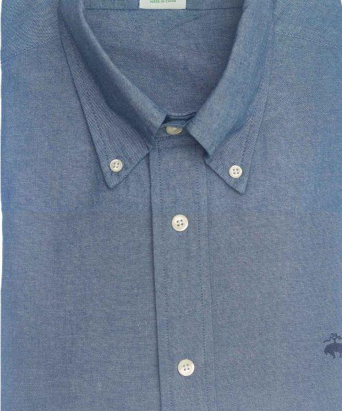 חולצת אוקספורד לגבר גינס