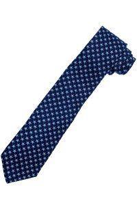 עניבה כחולה עם כוכבים