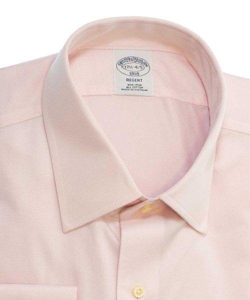 חולצת מכופתרת לגבר בצבע ורוד Brooks Brothers ברוקס ברדרס