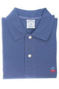 חולצת פולו קלאסית בצבע כחול Brooks Brothers
