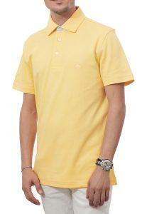 חולצת פולו קלאסית בצבע צהוב Brooks Brothers
